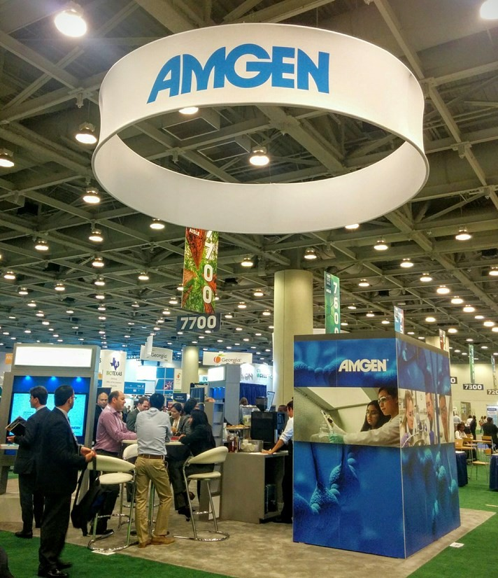 Amgen has been involved in several cases involving biosimilars of its blockbuster drugs.
